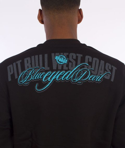 Pit Bull West Coast-Blue Eyed Devil II Sweatshirt Crewneck Black