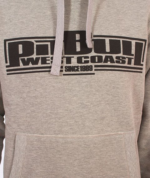 Pit Bull West Coast-Boxing Bluza Kaptur Szara