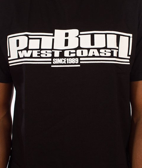 Pit Bull West Coast-Boxing Classic T-Shirt Czarny