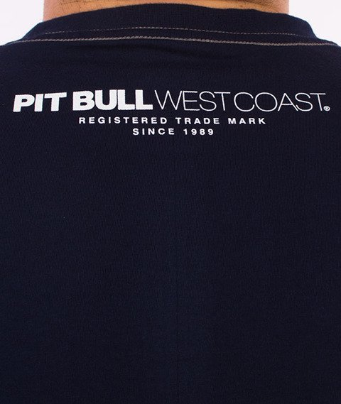 Pit Bull West Coast-Casino T-Shirt Granatowy