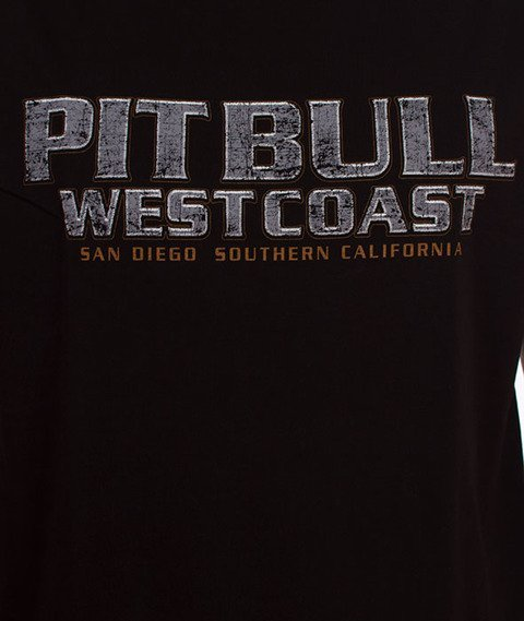 Pit Bull West Coast-Fighter T-Shirt Czarny