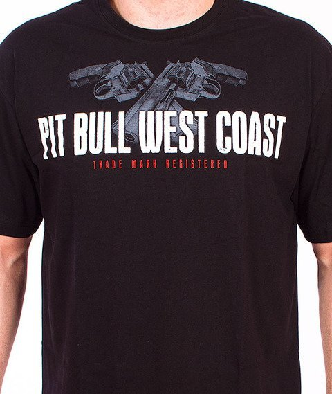 Pit Bull West Coast-Make My Day T-shirt Black
