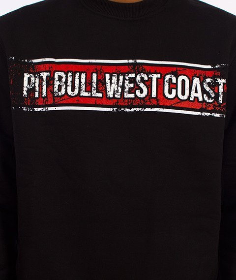Pit Bull West Coast-Portrait Crewneck Bluza Czarna