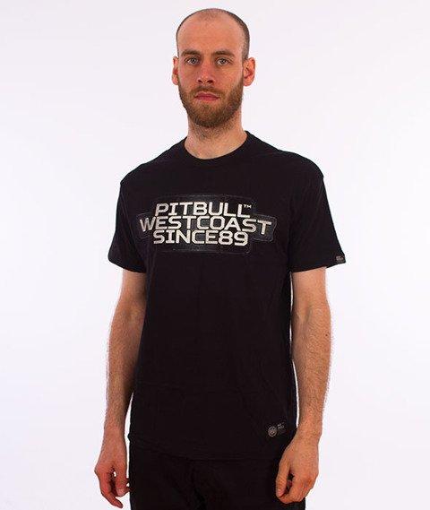 Pit Bull West Coast-Rating Plate T-Shirt Black
