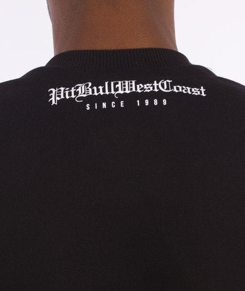 Pit Bull West Coast-Skull Logo Sweatshirt Crewneck Black
