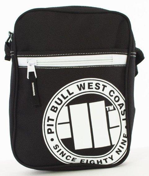 Pit Bull West Coast-Torba Listonoszka Pit Bull 89 Czarno-biała