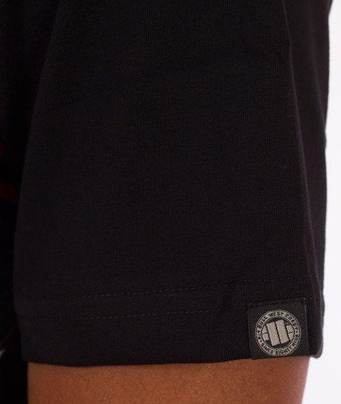 Pit Bull West Coast-Urban Camo T-Shirt Czarny