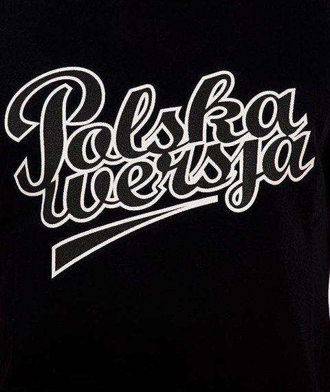 Polska Wersja-Polska Wersja Double T-shirt Czarny