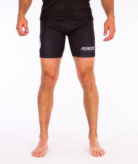 Poundout-Base Spodnie Krótkie Kompresyjne Czarne