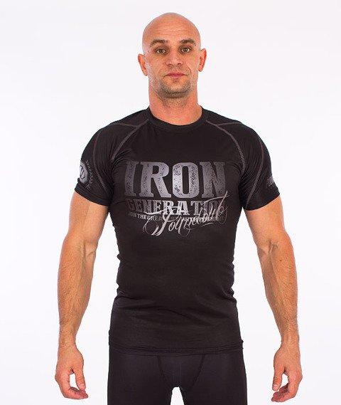 Poundout-Iron Generation Rashguard Czarny