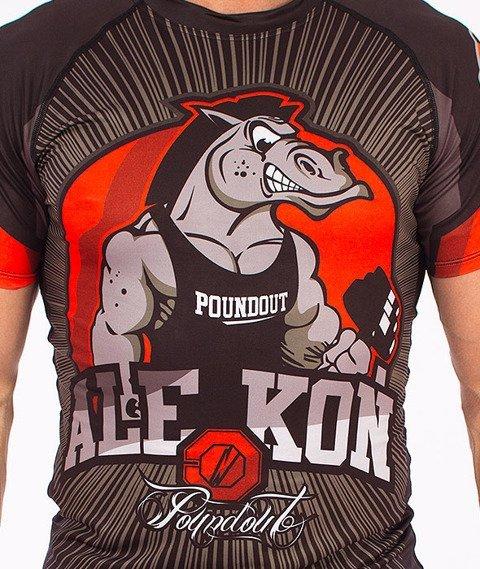 Poundout-Koń Rashguard Multikolor