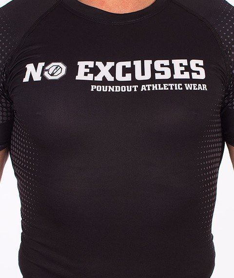 Poundout-No Excuses Rashguard Multikolor