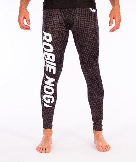 Poundout-Robię Nogi Legginsy Męskie Czarne