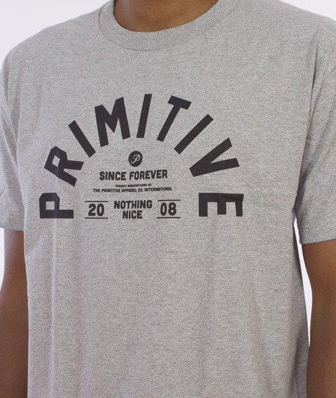 Primitive-Certified T-Shirt Szary