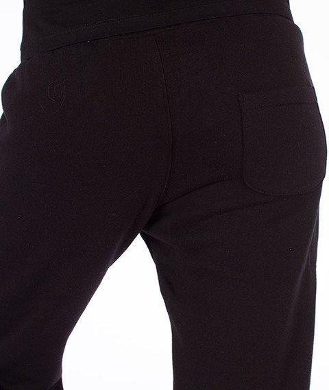 Prosto-Ground Spodnie Dresowe Damskie Czarne