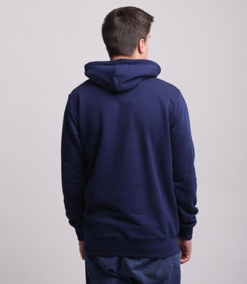Prosto-HD Strish Bluza Kaptur Navy