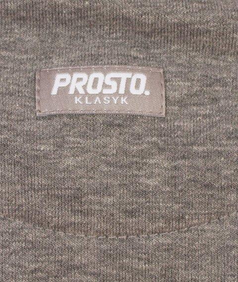 Prosto-Icearc Bluza Damska Kaptur Szara