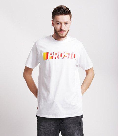 Prosto NASCAR T-Shirt Biały