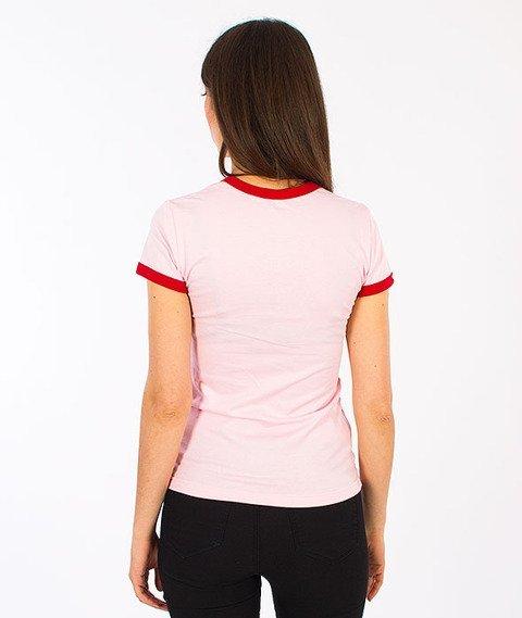 Prosto-Pamela T-shirt Damski Pink