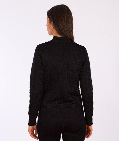 Prosto-Quilt Bluza Rozpinana Damska Czarna