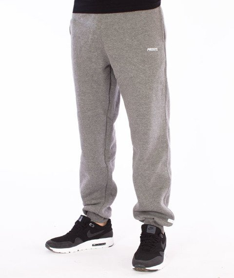 Prosto-Shield Spodnie Dresowe Szare