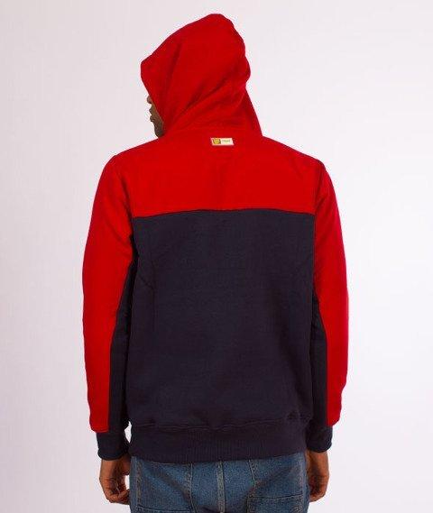 Prosto-Sober Hoodie Bluza Kaptur Red
