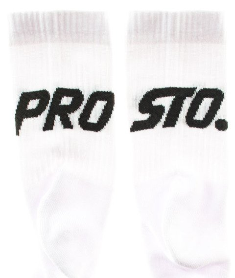 Prosto-Socks 2Pack2 Duże Logo White/Black