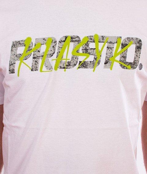 Prosto-Tag Wall T-Shirt Biały