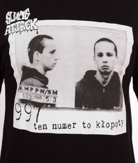 RPS KLASYKA-997 T-Shirt Czarny