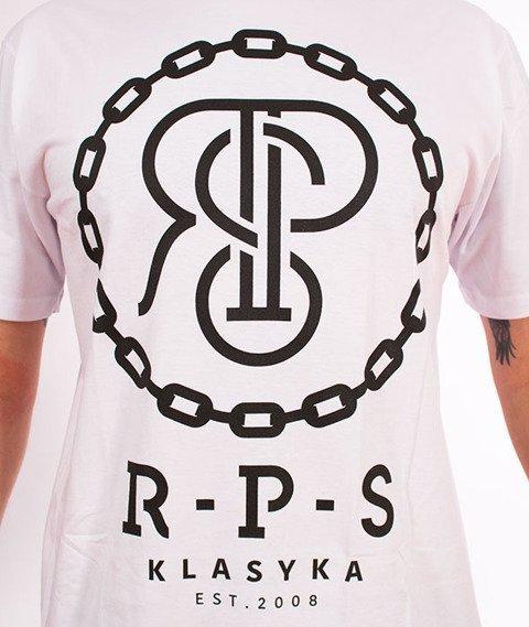 RPS KLASYKA-Chain T-Shirt Biały