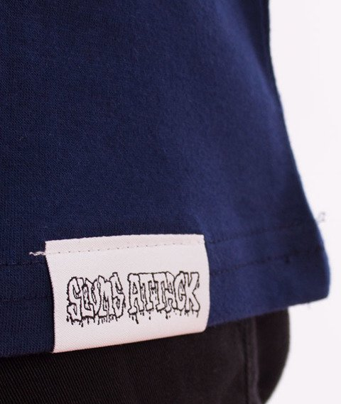 RPS KLASYKA-SLU GANG College T-Shirt Granatowy