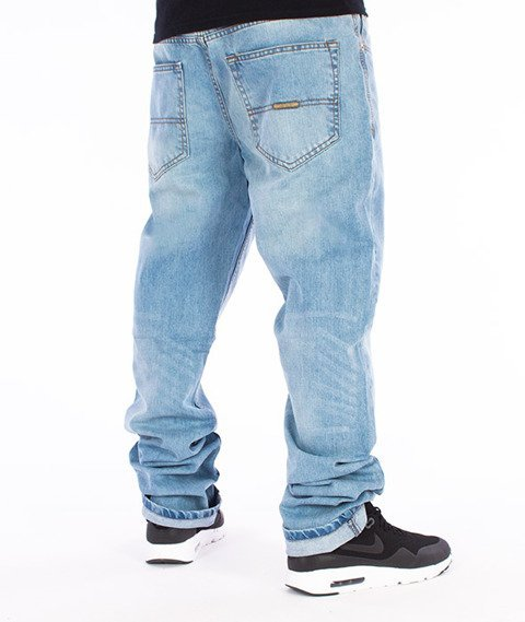RocaWear-Lighter Wash Relaxed Fit Spodnie Jeans R00J9911L 854