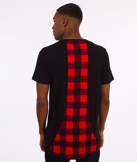 Rocawear-Cheq Long T-Shirt Czarny