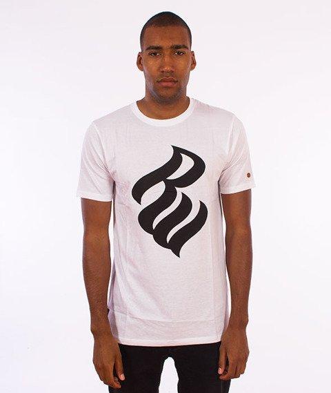 Rocawear-Rocawear Logo T-Shirt Biały
