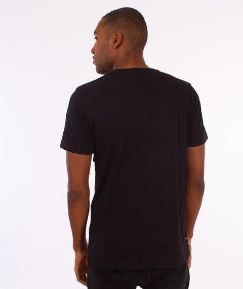 Rocawear-Rocawear Logo T-Shirt Czarny