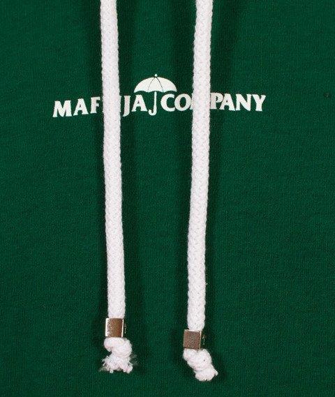 SB Maffija-Double Green Bluza Kaptur Zielona
