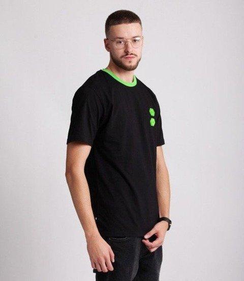 Smoke Story RUBBER 3D T-Shirt Czarny