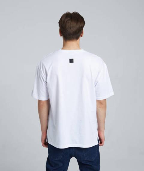 Smoke Story SMSTR T-Shirt Oversize Biały