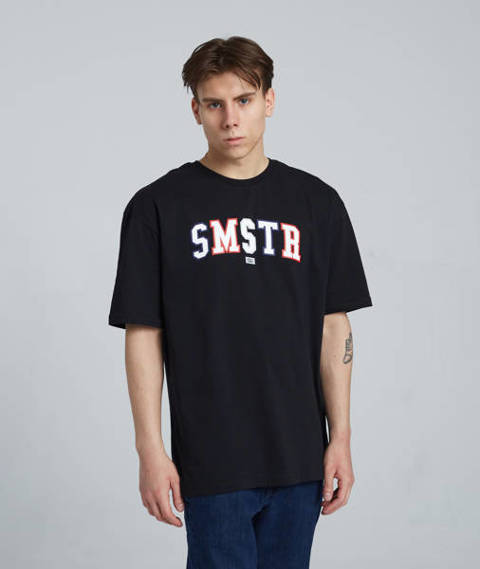 Smoke Story SMSTR T-Shirt Oversize Czarny