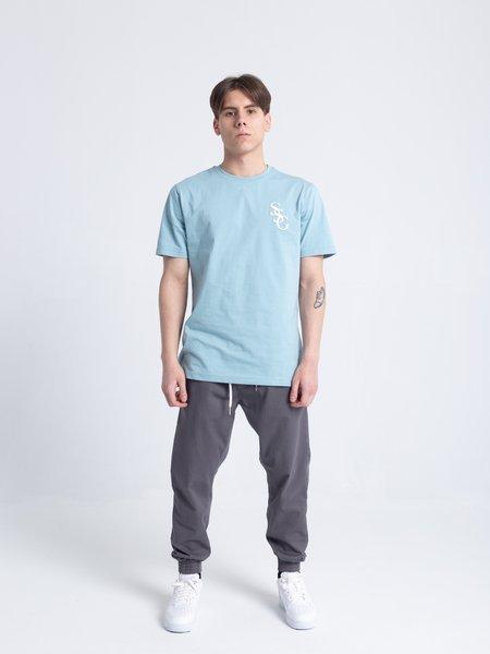Smoke Story SSG SLANT T-Shirt Błękitny