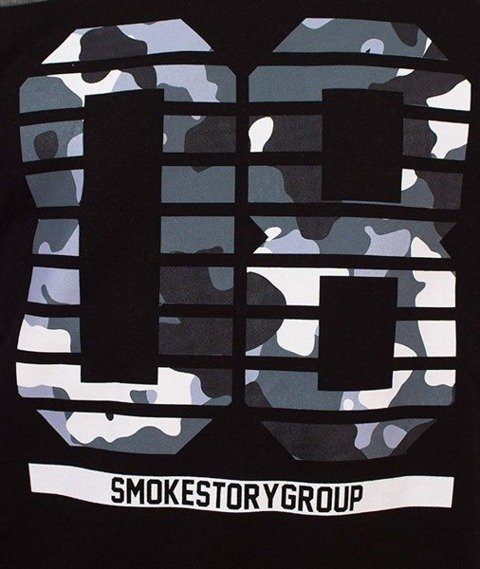 SmokeStory-08 Grey Moro Bluza Czarny/Ciemny Melanż