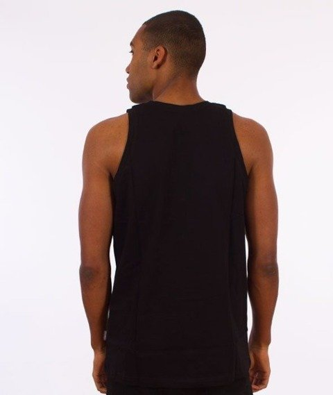 SmokeStory-Back Tank Top Czarny