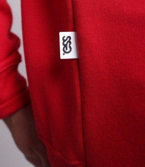 SmokeStory-Belt SSG Crewneck Bluza Czerwona