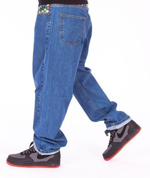 SmokeStory-Cans Baggy Jeans Light Blue