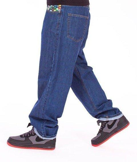 SmokeStory-Cans Baggy Jeans Medium Blue