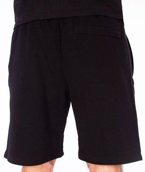 SmokeStory-City Krótkie Spodnie Dresowe Czarne