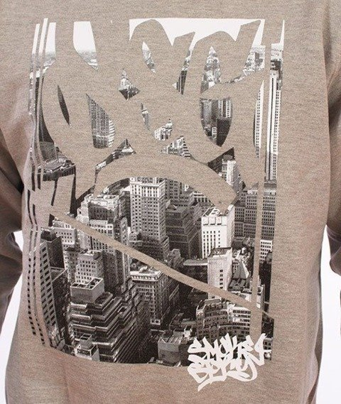 SmokeStory-City Tag Bluza Szara