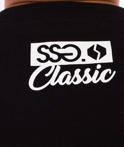 SmokeStory-Classic Bluza Czarna