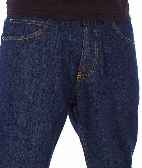 SmokeStory-Classic Regular Jeans Dark Blue