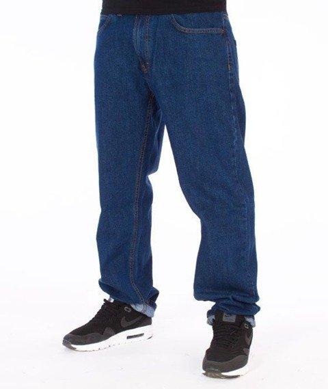 SmokeStory-Classic Slim Jeans Medium Blue